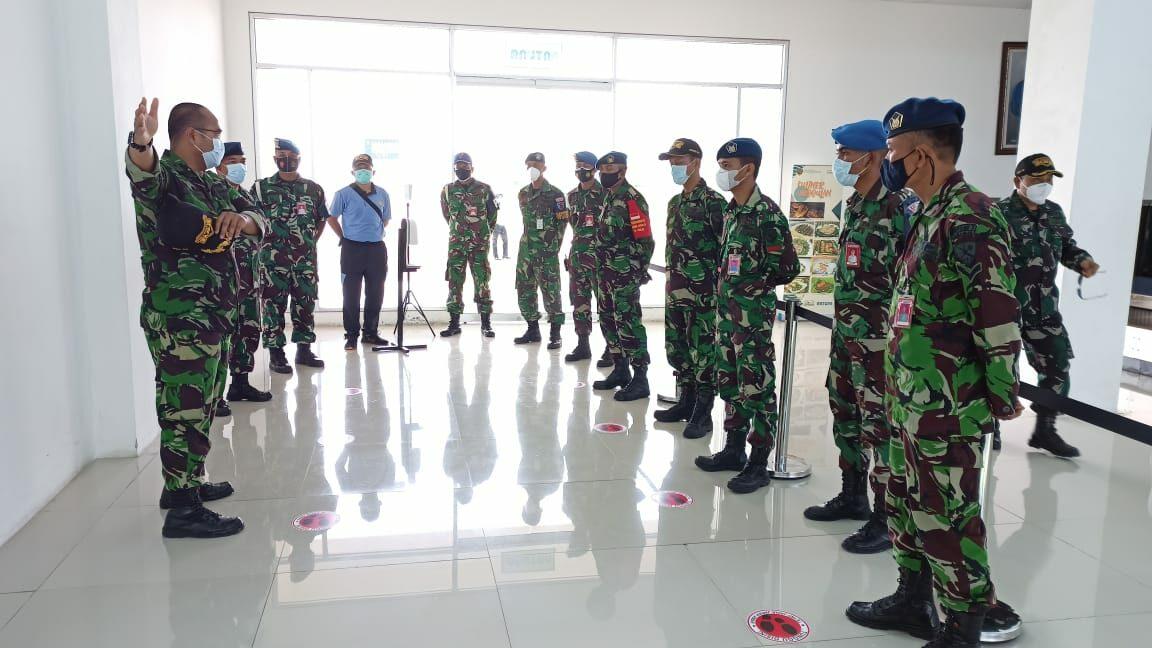 Danlanud RSA Perketat Prokes di Bandara Raden Sadjad