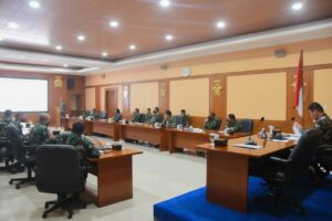 Rapat Pembuatan Underslug Giant Flag Guna Mendukung kegiatan HUT RI ke-76