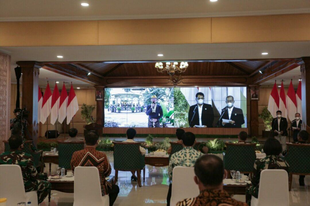 Danlanud Adisutjipto Hadiri Acara Pencanangan Gerakan Indonesia Raya Bergema