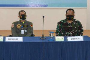 Casis Setukpa Angkatan 25 TA 2021 Wilayah Jateng- DIY menerima pengarahan dari Disdikau
