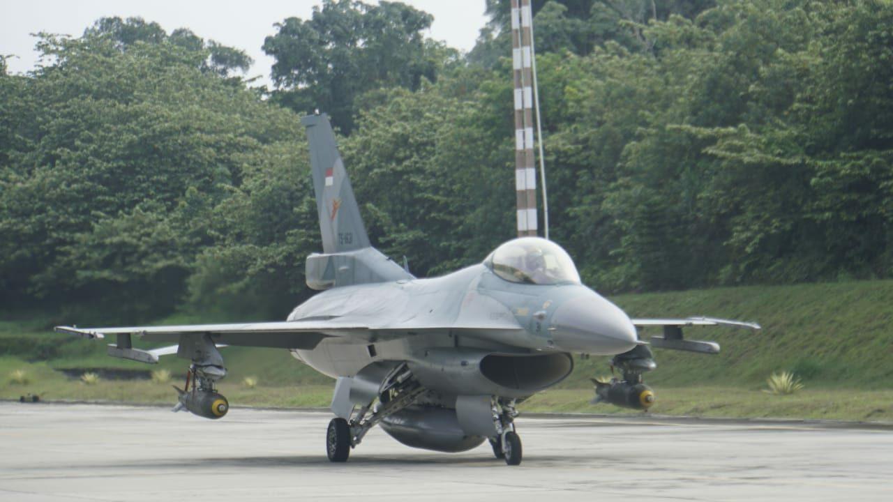Jelang Latihan Jalasakti, Pesawat Tempur TNI AU Gelar Latihan Weapon Delivery