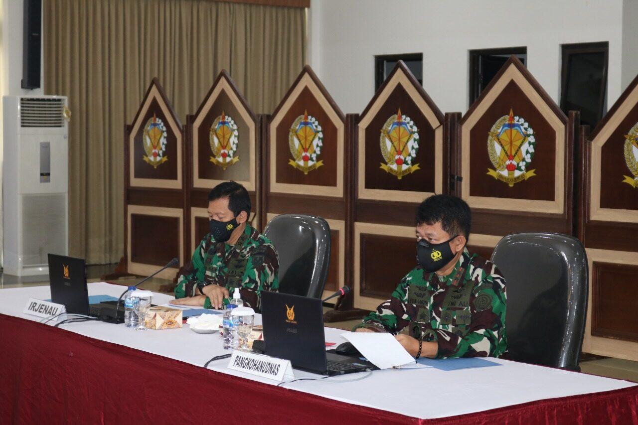 Taklimat Awal Wasrikkap Itjenau TA.2021 di Kohanudnas dan Jajaran