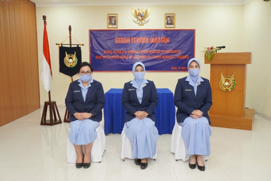 Serah Terima Jabatan Wakil Ketua PIA Ardhya Garini D. III Koopsau III Biak