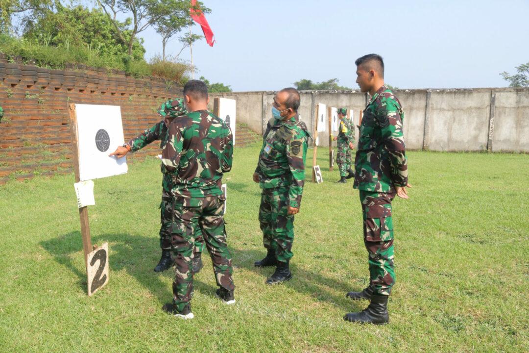 Asah Kemampuan di Tengah Pandemi, Personel Wingdiktek Latihan Menembak