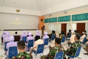 Kosekhanudnas I Terima Penyuluhan Hukum Babinkum TNI