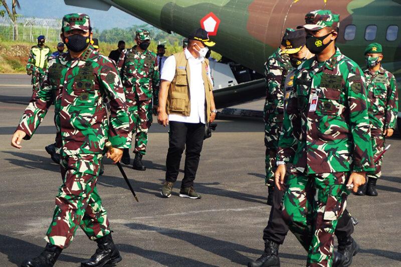 Danlanud J.B. Soedirman Lepas Keberangkatan Panglima TNI