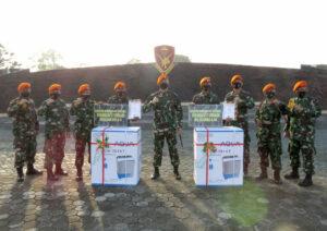 Danyonko 462 Paskhas Berikan Hadiah Bagi Prajurit Berprestasi