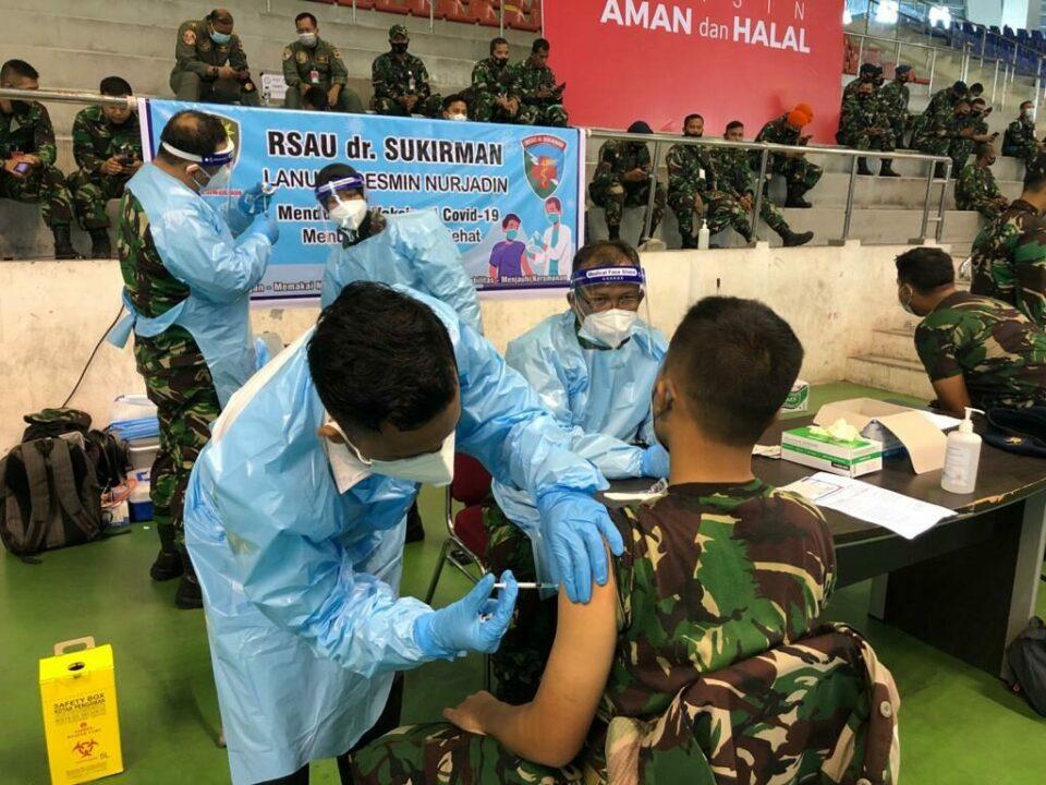 RS.dr.Sukirman Lanud Rsn, Bantu Pemda Vaksinasi Warga