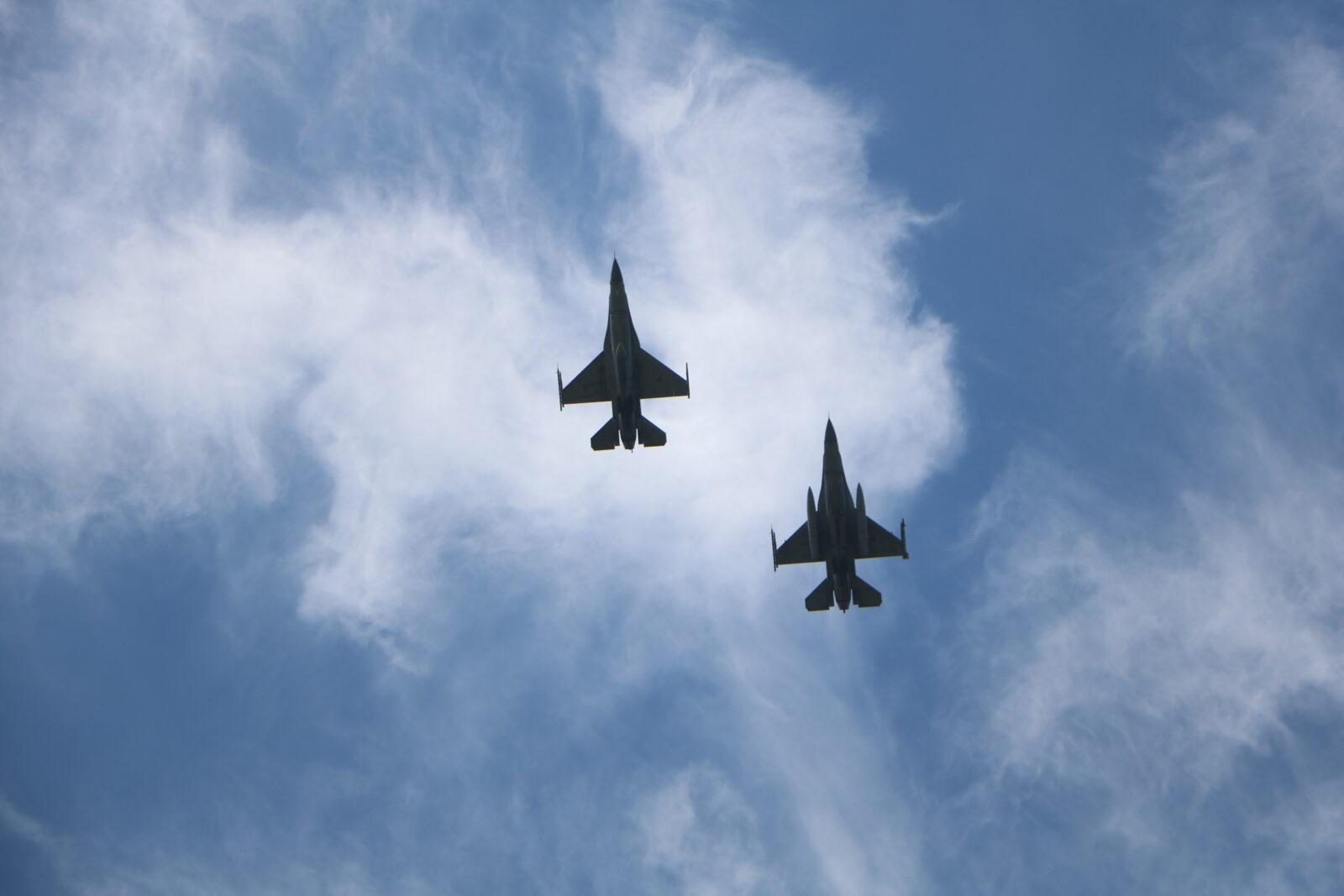TNI AU-USPACAF Jalani Misi Air to Air Maneuver