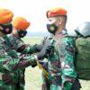 Penutupan Pendidikan Kursus Instruktur Terjun Bebas Tempur (ITBT) Angkatan Ke – XI TA. 2021