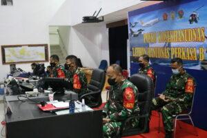 """Kosekhanudnas II Mengikuti Penutupan Latihan Hanud Perkasa """"B"""" 2021"""