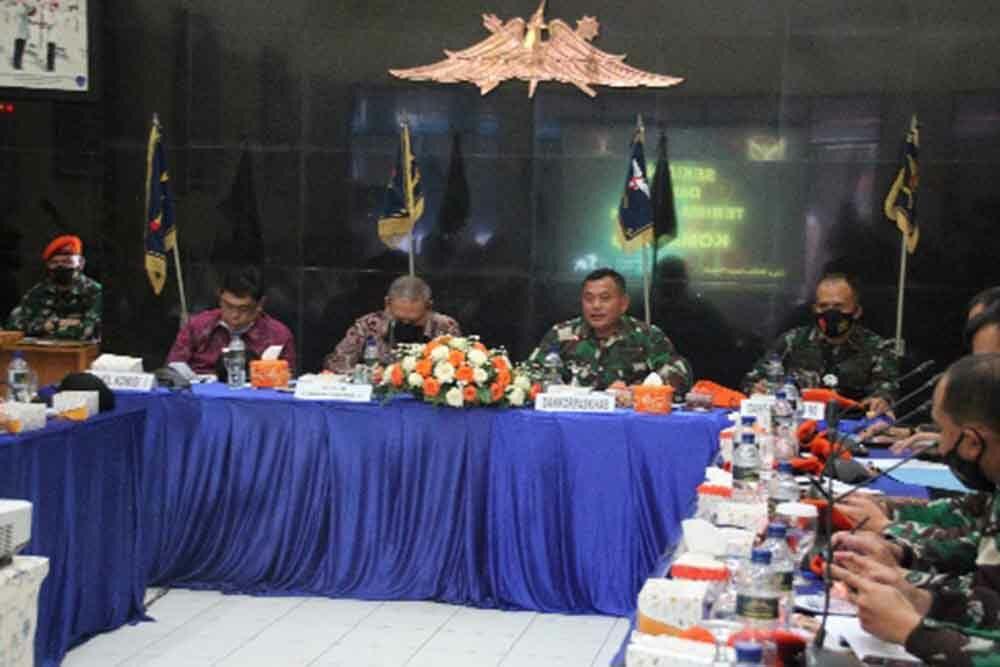 Kunjungan Kerja Spesifik Komisi 1 DPR RI Ke Satuan Bravo 90 Paskhas