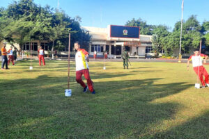 Kosekhanudnas II melaksanakan Tes kesegaran Jasmani (Garjas) Semester I 2021