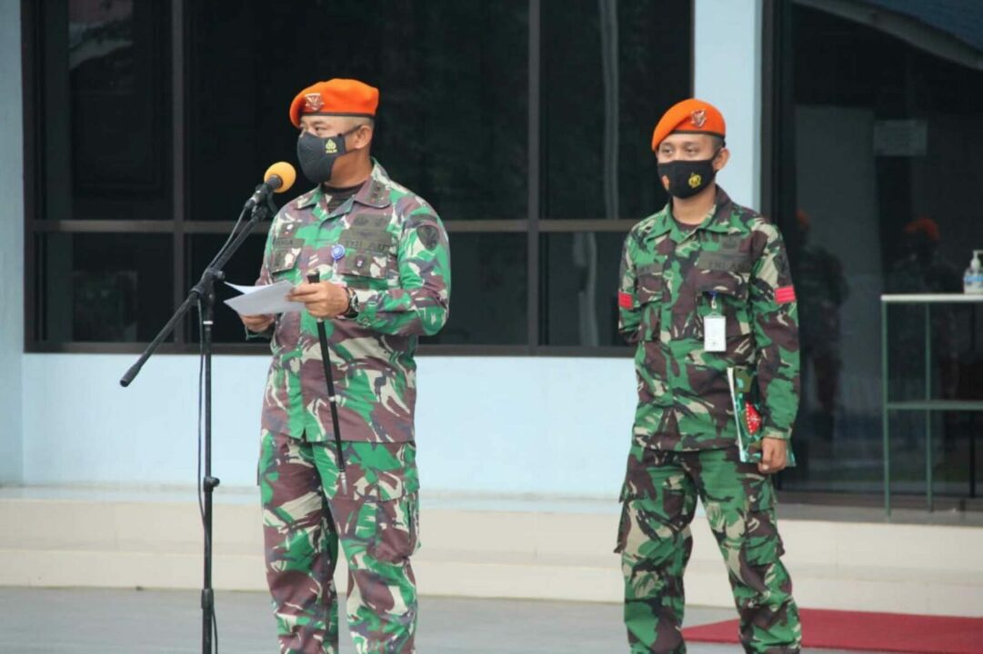 Danyonko 469 Paskhas Lepas 5 Prajurit Terbaik Pancawara Pindah Satuan