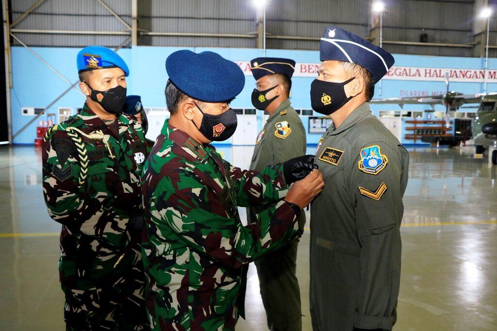 Penutupan dan Pembukaan Pendidikan Aircrew di Skadron Udara 32 Wing 2 Lanud Abdulrachman Saleh