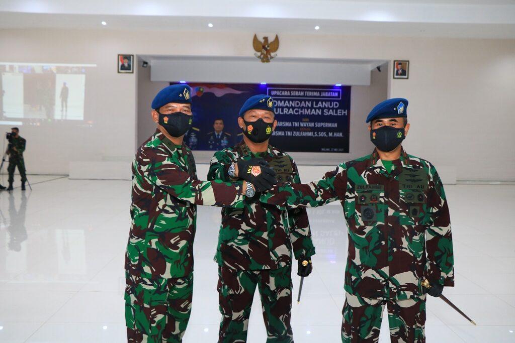 Marsma TNI Zulfahmi, S.Sos., M.Han., Jabat Komandan Lanud Abd Saleh