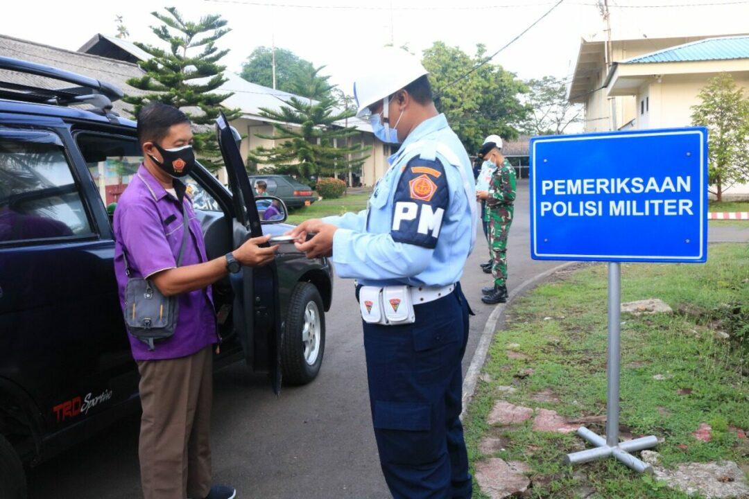 Tingkatkan Disiplin Prajurit, Satprov Kosekhanudnas II Gelar Operasi Gaktib