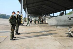 Pesawat Tempur Lanud Rsn Menuju Bumi Sriwijaya