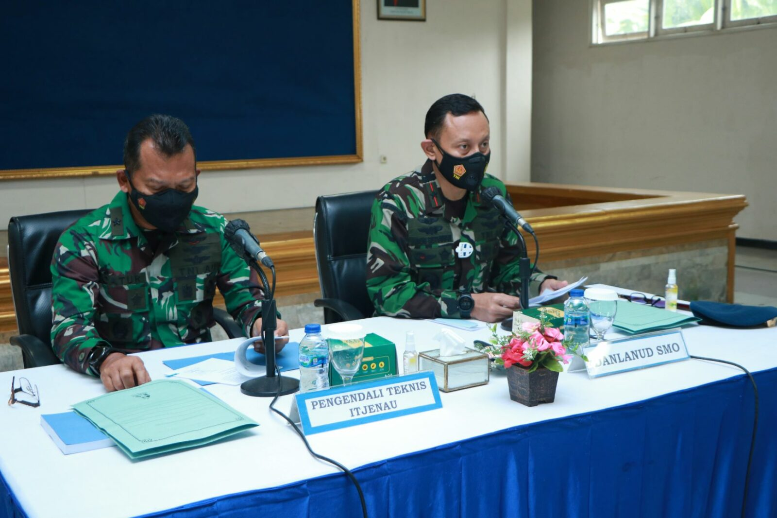Tim Wasrik Itjenau adakan pemeriksaan Di Lanud Adi Soemarmo