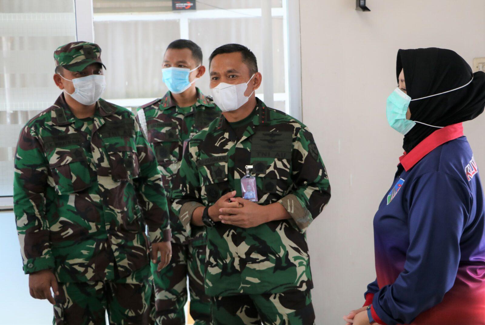 Untuk Meningkatkan Imun Tubuh, Lanud Husein Sastranegara Kembali Gelar Vaksinasi Dosis 2.