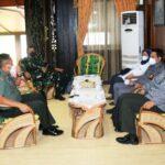 Komandan Lanud Sjamsudin Noor Turut Sambut Kedatangan Rombongan PPRA LXII TA. 2021 Lemhanas RI Dalam rangka SLISN di Wilayah Provinsi Kalimantan Selatan