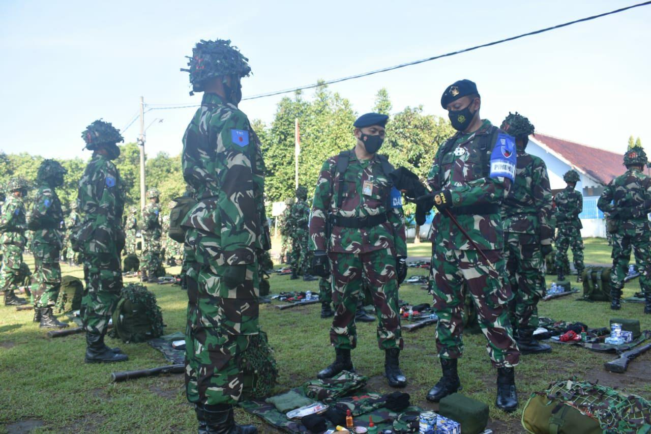 Semata PK TNI AU A-81 Laksanakan Latganda