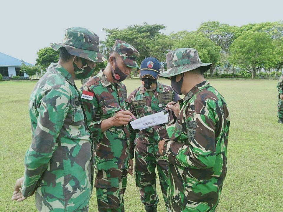 Pastikan Aset Lanud Mus Aman, Prajurit Lanud Mus Gelar Latihan Pertahanan Pangkalan