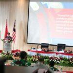 Kasau Dampingi Ketua DPR RI Berikan Pembekalan Kepada Pasis Seskoau A-58
