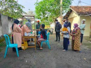 Dukungan Unsur Gabungan Paskhas Dalam Mendukung Program PPKM Skala Mikro Wilayah Madiun