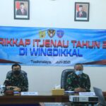 Entry Briefing Wasrikkap Itjenau di Wingdikkal Tahun 2021