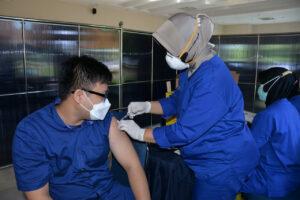 Lanud Iswahjudi Dukung Percepatan Vaksinasi Covid-19