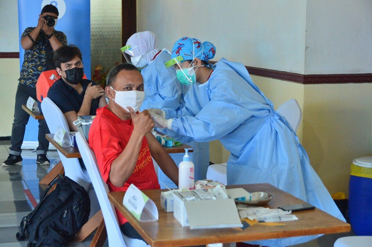 Lakespra dr. Saryanto Berikan Vaksinasi Massal untuk Masyarakat DKI Jakarta