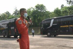 Latihan Tri Matra Eka Bhakti, Siswa SEPA PK TNI TA 2021 kunjungi Lanud Adisutjipto