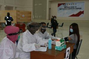 Lanud Sulaiman Fasilitasi Vaksinasi Bagi Masyarakat