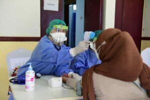 TNI AU Vaksin Ribuan Warga DKI Jakarta