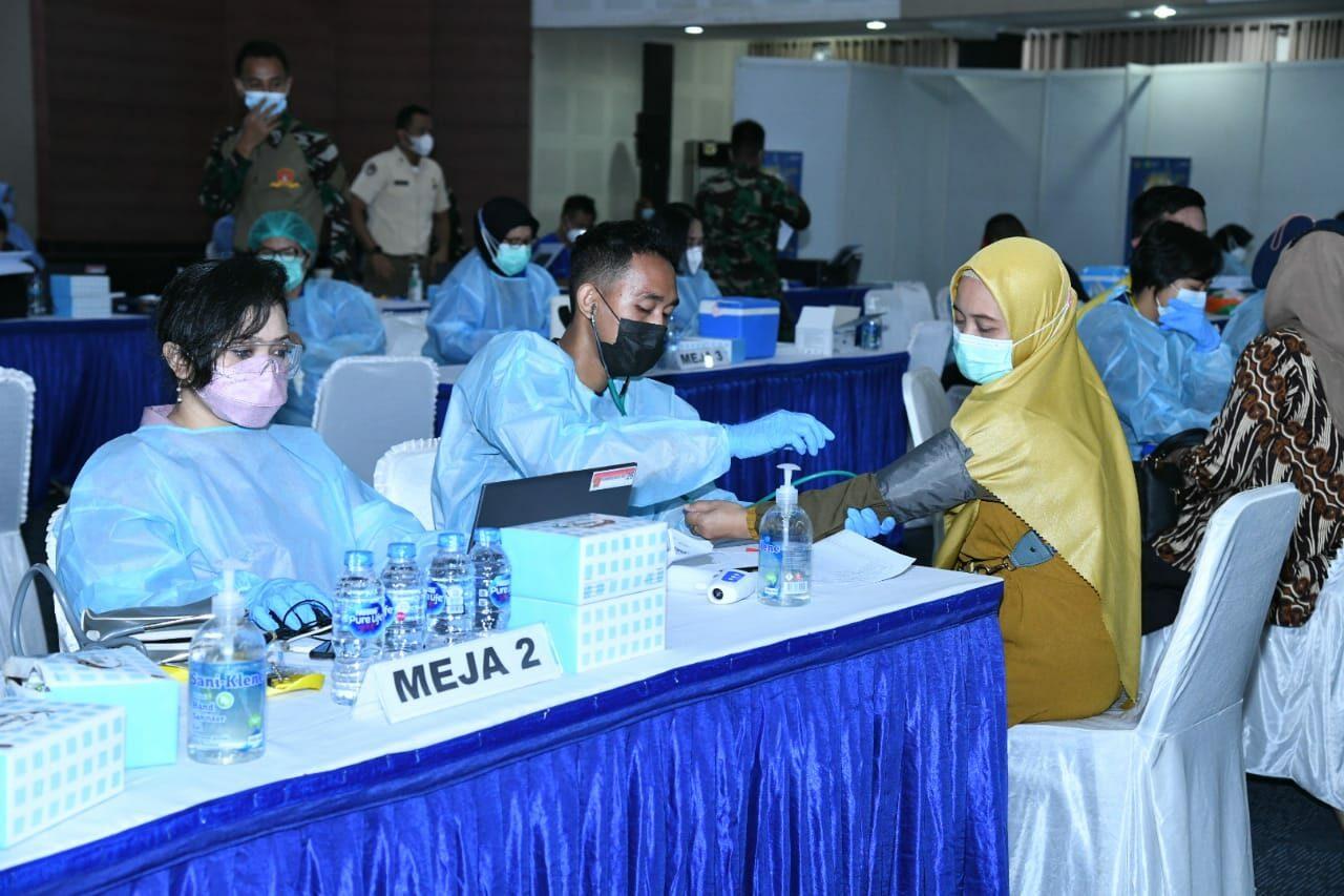 Pemberian Vaksinasi di Mabesau Capai 90%