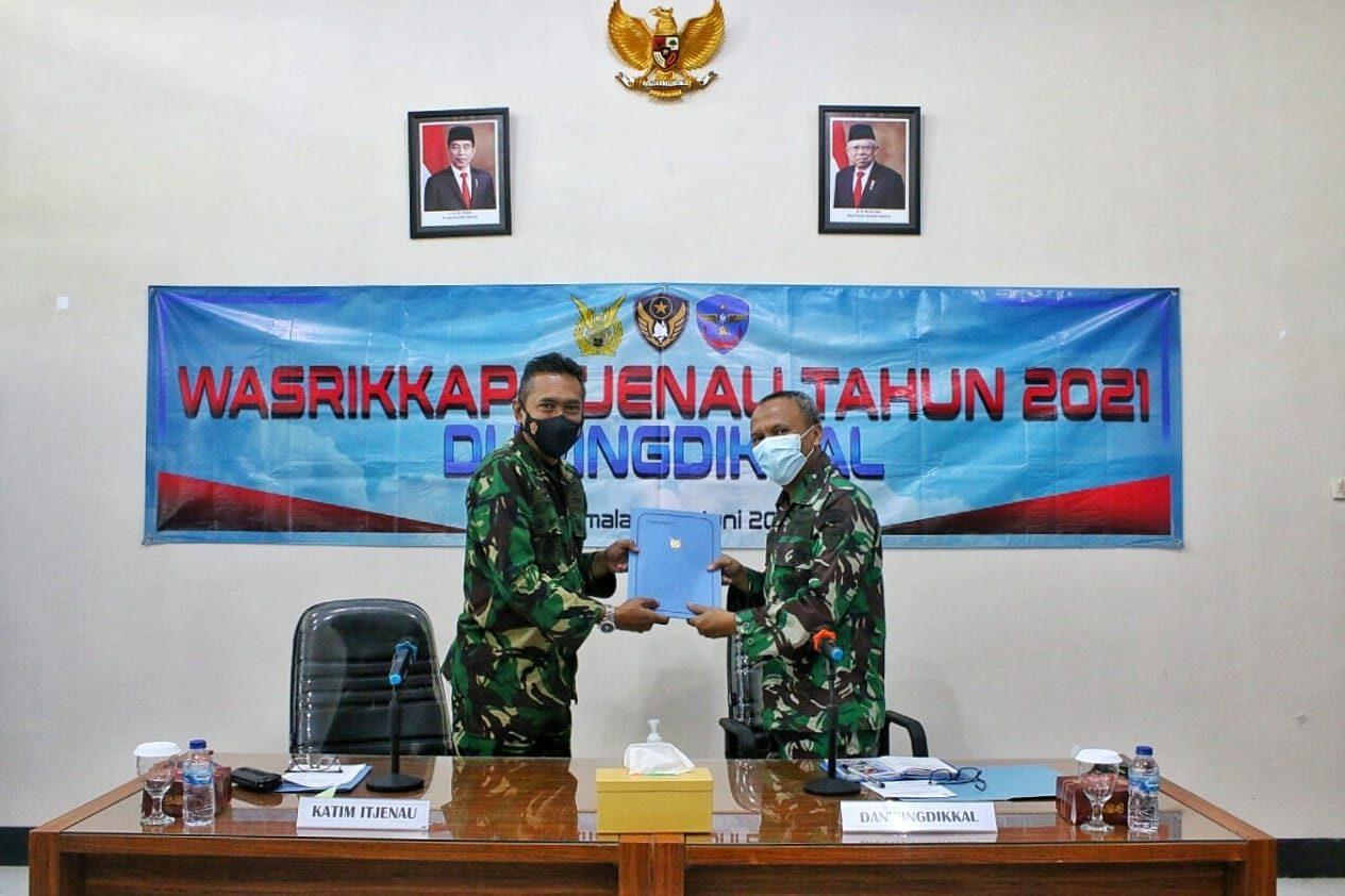 Exit Briefing Akhiri Tugas Wasrikkap Itjenau di Wingdikkal
