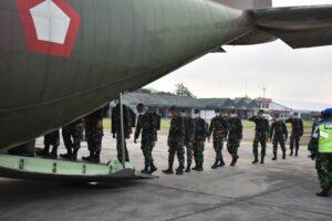 Bantu Penanganan Covid 19, Lanud Adisutjipto mendukung keberangkatan 176 Nakes Siswa Sepa PK dan Susgakes ke Jakarta.