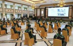Gubernur DIY Sri Sultan Hamengku Buwono X Beri Pembekalan Kepada Capaja AAU 2021