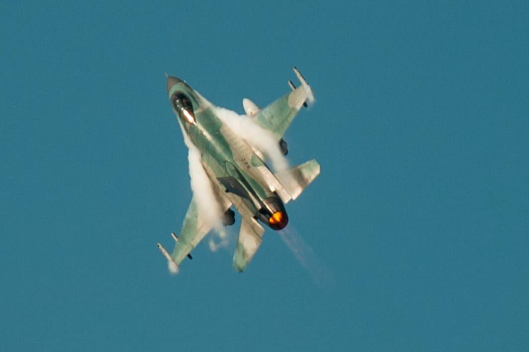 Cope West 2021, Air Combat Tactic 2 V 2 F-16 TNI AU-USPACAF