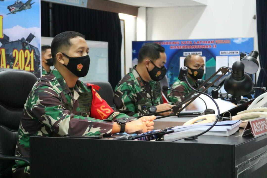 Kosekhanudnas II Terlibat Perkasa 'B' TA 2021