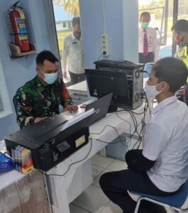 Serbuan Vaksin Nasional TNI-POLRI, Satuan Jajaran TNI AU Gelar Vaksinasi Massal Serentak