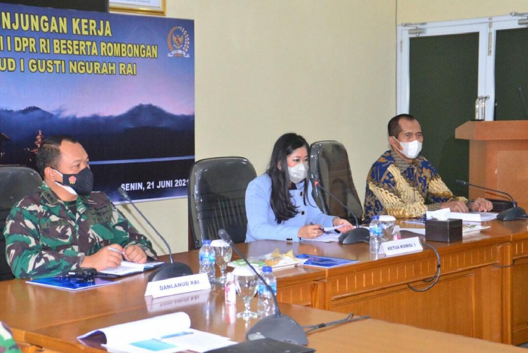 Kunjungan Kerja Ketua Komisi I DPR RI Beserta Tim di Lanud I Gusti Ngurah Rai