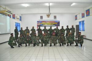 DANPUSDIKBANGSPES KODIKLAT TNI BUKA SUSPA PERNIKA HANUD XV TA 2021 DI PUSDIKLAT HANUDNAS SURABAYA