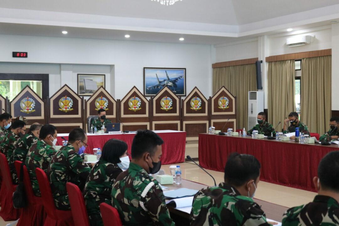 Kaskohanudnas Pimpin Rakor TOA/TOD Militer dan PNS