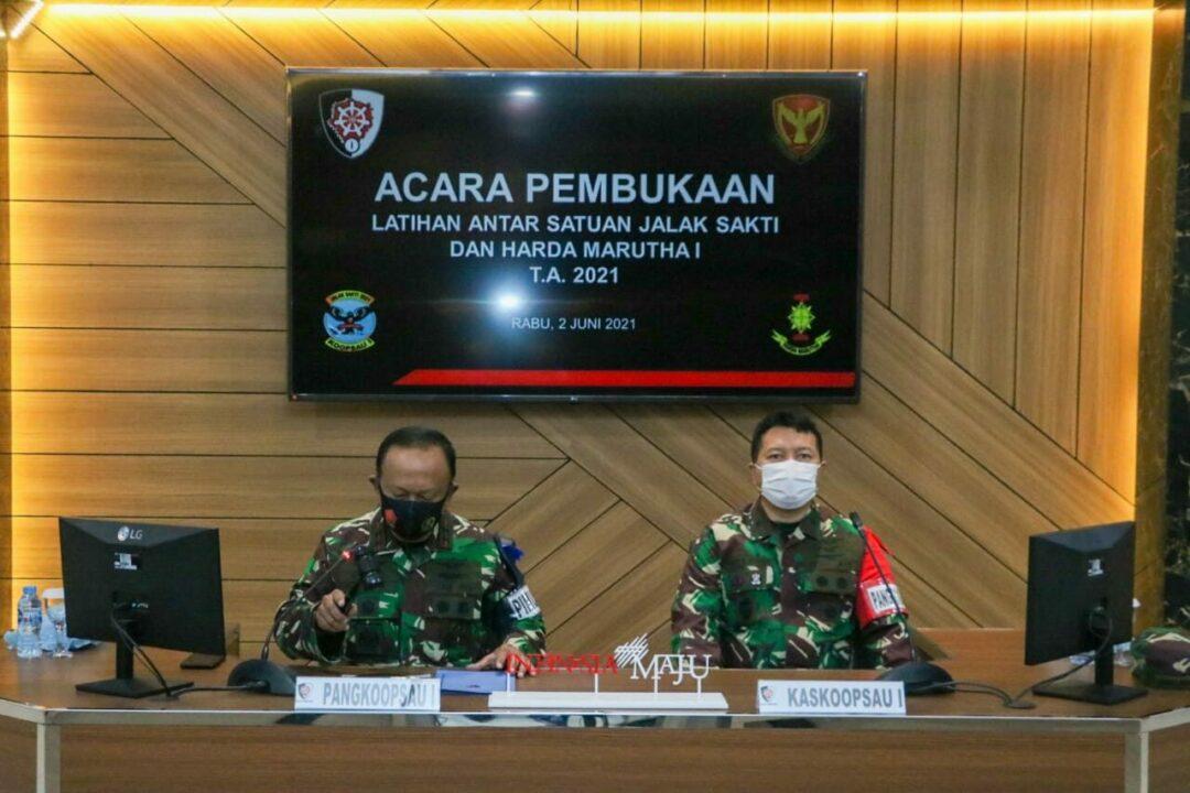 "Pangkoopsau I Resmi Membuka Latihan Antar satuan ""Jalak Sakti"" Tahun 2021"