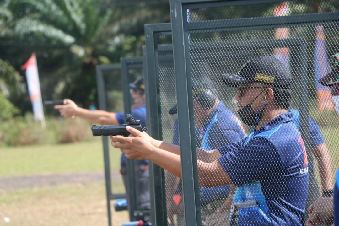 Pangkoopsau I Hadiri Kejuaraan Menembak Eksekutif di Belitung