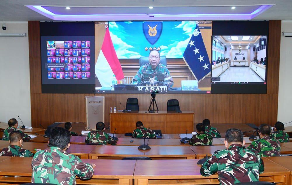 """Kasau : """" Teruslah Mengisi Diri, Dan Jaga Kehormatan Dan Nama Baik TNI AU"""""""