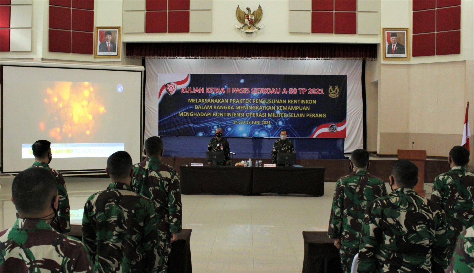 Laksanakan Kuliah Kerja II, 38 Pasis Seskoau A-58 Kunjungi Koopsau II