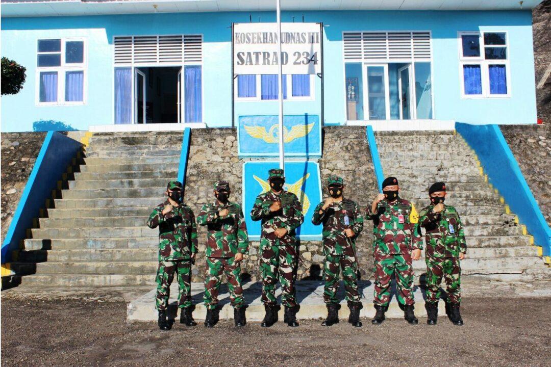 Kunjungan Kerja Panglima Kosekhanudnas III Ke Satuan Radar 234 Sibolga